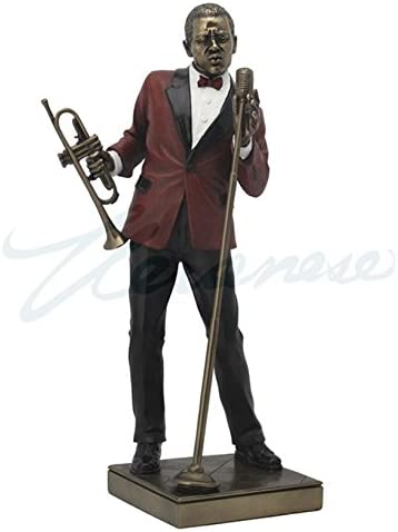 Male Singer Inventory cleanup selling sale Statue Cheap mail order shopping Sculpture Figurine Collection Jazz Band -