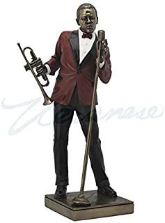 Male Singer Statue Sculpture Figurine - Jazz Band Collection