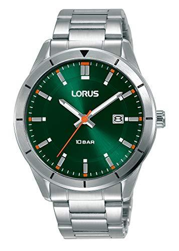 Lorus Sport Herren-Uhr Edelstahl mit Metallband RH901MX9