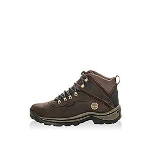 Timberland Men's White Ledge Mid Waterproof Boot,Dark Brown,8.5 M US