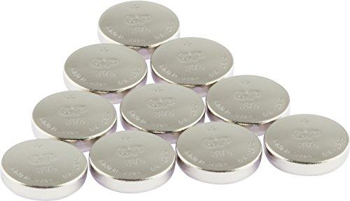 GP Uhrenbatterien 395 Ultra Plus Knopfzellen 1,55V (Batterie Typ V395 / SR57 / SR927SW) Silber-Oxid ohne Zusatz von Quecksilber und Eisen (0% Pb & Hg), 10 Stück im Multi-Pack