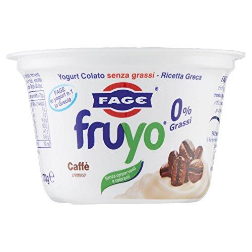 Fage Yogurt Fruyo 0%, Caffè, 170g
