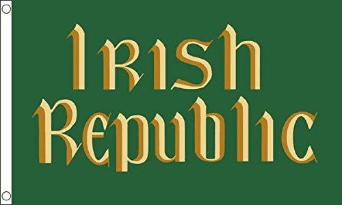 Drapeau (République d'Irlande) thème Insurrection de Pâques, 1,5 x 0,9 m