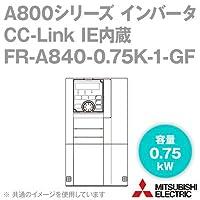 三菱電機(MITSUBISHI) FR-A840-0.75K-1-GF CC-Link IE内蔵インバータ 三相400V (容量:0.75kW) (FMタイプ) NN
