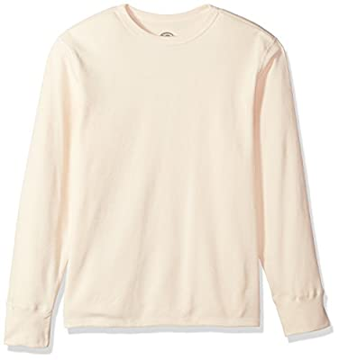 Dickies Men's Big Heavyweight Cotton Thermal Top, Natural, X-Large/Tall