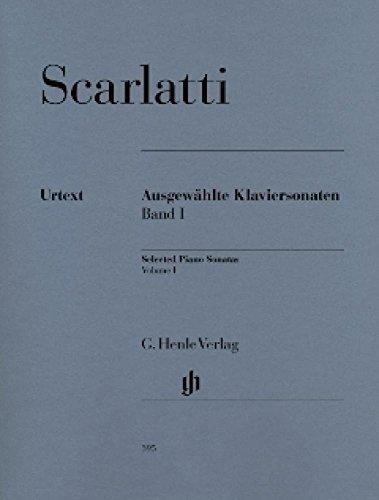 HENLE VERLAG SCARLATTI D. - SELECTED PIANO SONATAS, VOLUME I Notas clásicas piano