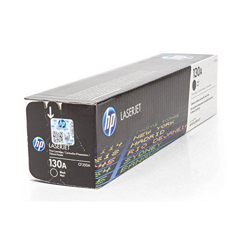 HP Original CF350A / 130A, für Color Laserjet Pro MFP M 177 fw Premium Drucker-Kartusche, Schwarz, 1300 Seiten