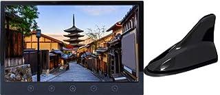 カーテレビ カーTV 9インチ フルセグ シャークアンテナセット:ブラック 車載テレビ HDMI スタンド付 「TV090B」