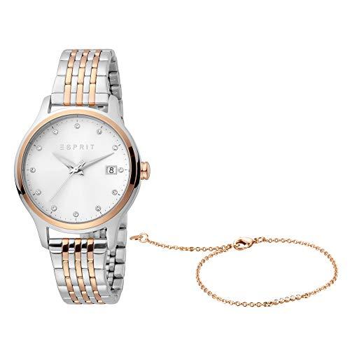 Esprit Set aus Armband und Uhr
