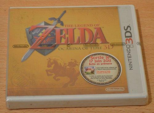 Boitier Collector The Legend Of Zelda Ocarina Of Time 3DS (Jeu Non Inclus)