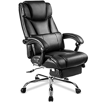 Office Chair PU Leather Boss Chair/Double Padde...