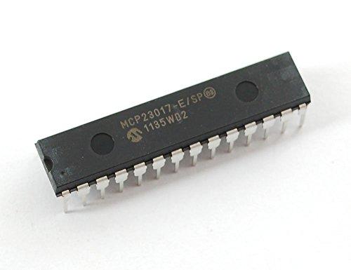 5 pcs - MCP23017 - i2c 16 input/output port expander