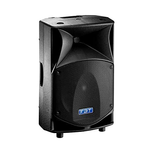 FBT J MAXX 114A Aktiver 2-Wege-Monitor-Lautsprecher, 1400/400 W, Peak LF/HF, Schwarz