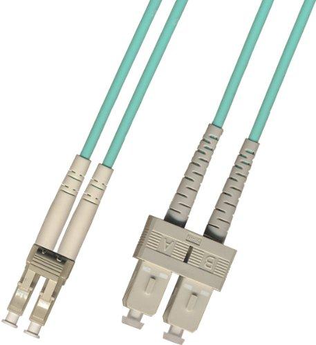 3 Meter - Multimode Duplex 10 Gigabit (10Gb) OM3 Fiber Optic Cable...