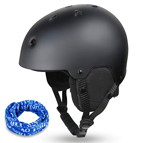 Zacro Ski & Cycling Helmet - Winter Snow Snowboard Skiing Helmet with CPSC and ASTM...