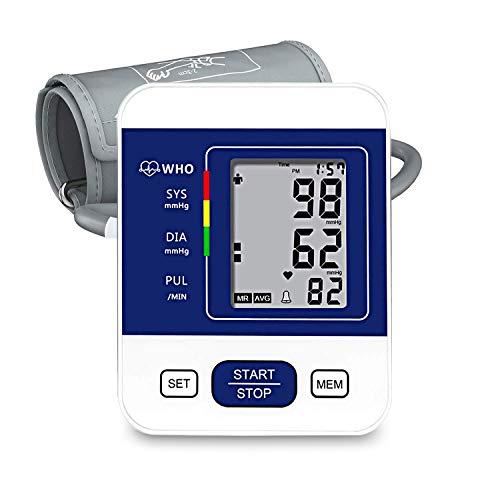Blood Pressure Monitor, CAZON Upper Arm Blood Pressure Monitor Cuff Digital Hypertension...