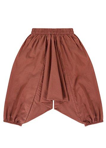 lovemeels Harem Hareem spodnie dla dzieci - spodnie dżinowe dla dziewcząt, Vieux Rose, 7-8 Lata