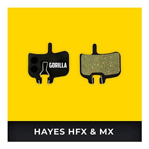 Hayes Pastillas de Freno HFX-mag HFX-9 MX-1 HFX-Nine para Freno de Disco Bicicleta I Orgánico & Sinterizado I Alto Rendimiento I Durable & Ajuste Pastillas de Freno Bicicleta