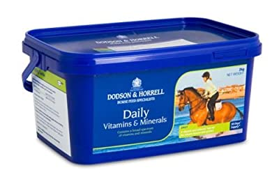 Dodson & Horrell - Horse Daily Vitamins & Minerals x 2 Kg from Smiths Heath Ltd