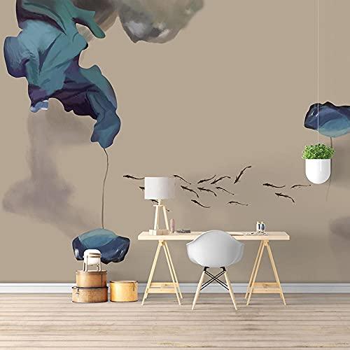 8D arte abstracto nube auspiciosa que cubre la pared Mural 5D sala de estar TV Fondo papel de pared sin costura Pared Pintado Papel tapiz 3D Decoración dormitorio sala sofá mural-430cm×300cm