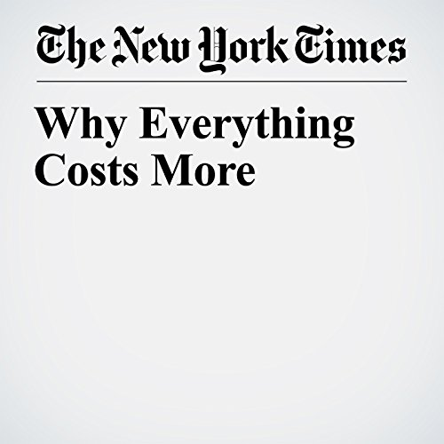 Why Everything Costs More audiobook cover art