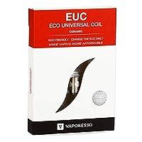 Vaporesso セラミック EUC コイル SS316L 0.5Ω (25-35W) 5個入