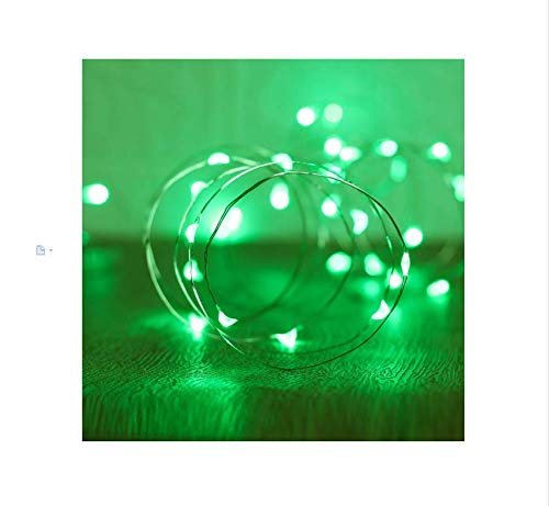 XINKAITE String Lights, Waterproof LED String Lights, Fairy String Lights Starry String Lights for Indoor& Outdoor DIY Decoration Home Parties Christmas Holiday (10FT/3Meters, Green)