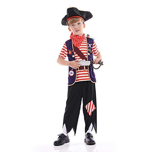 LLSS Cosplay Halloween Navidad Novedad Regalo Disfraz para niños Marinero Pirata Ropa de Cosplay Performance CostumeBody