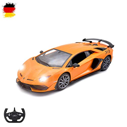 Lamborghini Aventador - RC ferngesteuertes Lizenz-Fahrzeug im Original-Design, Modell-Maßstab 1:14, Ready-to-Drive, Auto inkl. Fernsteuerung