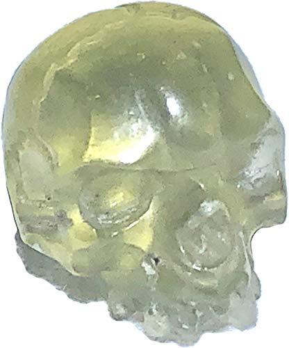 Lybian Desert Glass Small Carved Skull