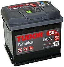 Batería para coche Tudor TB500 Exide Technica 50Ah, 12V.