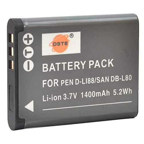 DSTE Spare Battery Compatible with D-LI88 and...