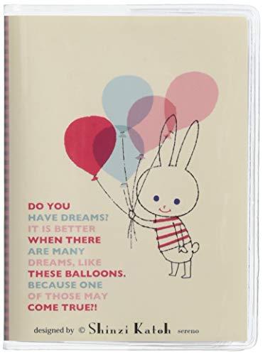 Shinzi Katoen Zakelijk/Reizen/Kaarten Houder - ballon konijn Ontwerp