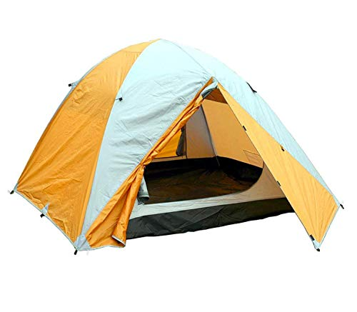 MONTIS HQ JOVIAN, Zelt für 2 bis 3 Personen, wasserdichtes ultraleichtes Material kompakt mit Doppelwand und Innenzelt, als Trekking- Outdoor- und Camping-Zelt mit Tragetasche zum Wandern Klettern