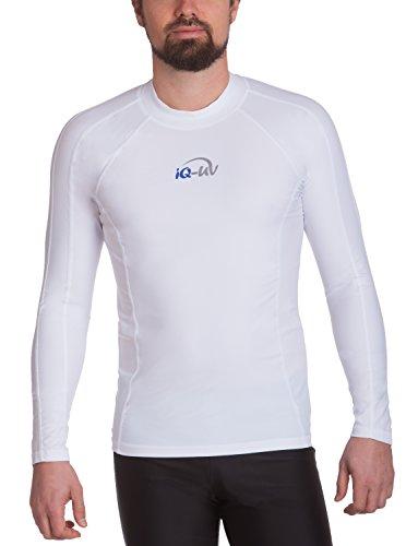 iQ-UV Herren UV-Shirt IQ 300 Watersport Long Sleeve, Weiß (White), M (50)