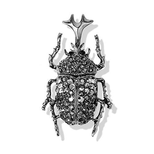 lliang Broche Escarabajo Escarabajo Broche Insecto Broches y Pines Bufanda Bolsa Accesorios Clip (Metallfarbe : Unicorn Gray)