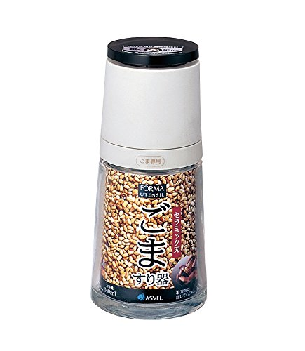 Glass Sesame Seed Grinder by Asvel