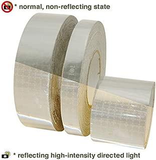 Oralite (Reflexite) M82 Marine Microprismatic Conspicuity Tape: 1-1/2 in. x 15 ft. (Silver-White)