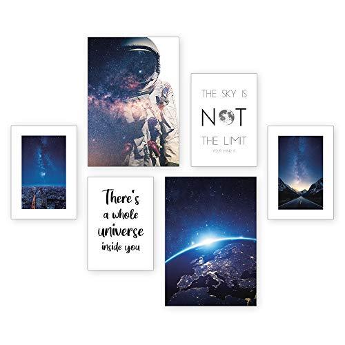 Juego de pósteres Astronaut