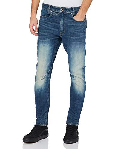 G-STAR RAW D-STAQ 3D Slim Jeans, Antic C051-b817-Árbol de Navidad, 32W /...