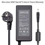 Chargeur Ordinateur Portable Acer 19V 3.42A 65W pour Acer A13-045N2A Swift 3 5 1...
