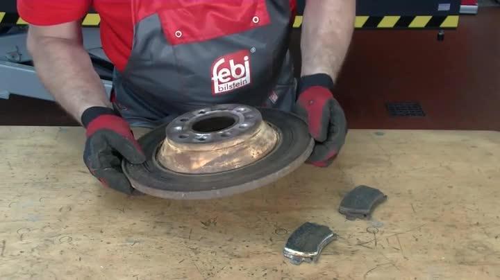 Febi Bilstein 30721 Bremsscheibensatz 2 Bremsscheiben Auto
