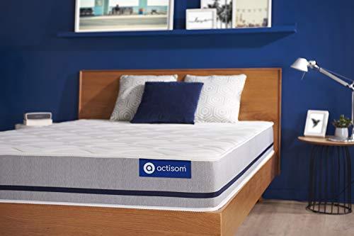 Colchón Actiflex Soft 90x200cm, Grosor: 20 cm, Muelles ensacados, Moderadamente Firme, 3 Zonas de Confort
