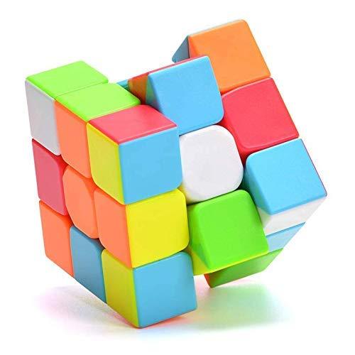 QiYi Warrior W 3x3 Cubo de Velocidad 3x3x3 Stickerless Cubo de Mágic Puzzles