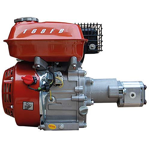 Hydraulikaggegat LSA196CC-CN Benzinmotor 6,5PS 4 Takt luftgekühlt mit Hydraulikpumpe 200bar für Holzspalter Kipper Pressen Kräne