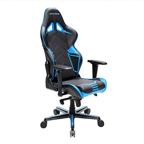 DXRacer Gaming Stuhl, OH/RV131/NB, R-Serie, schwarz-blau