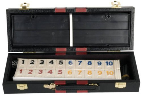 Deluxe Rummy with Plastic Racks