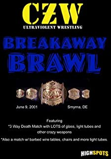 Czw- Combat Zone Wrestling- Breakaway Brawl DVD-R