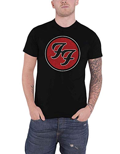 Foo Fighters T Shirt FF Band Logo Monkey Wrench Nuevo Oficial De Los Hombres Size L