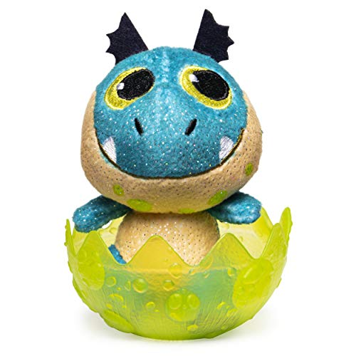 Dreamworks Dragons 6054907 Legends Evolved, Baby Wild Gronckle 7,5 cm Plüsch, Plüschdrache im Ei zum Sammeln, Sortiert